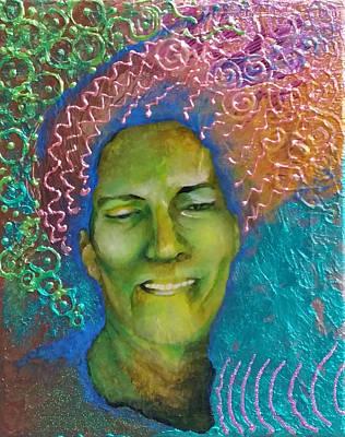 Painting - Masquerading Joy Over Sorrow by Corey Habbas