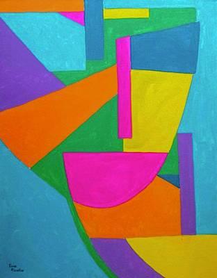 Painting - Masquerate by Isaac Alcantar