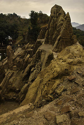 Photograph - Masroor Temple by Rajiv Chopra