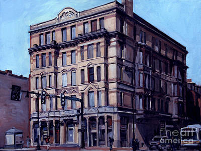 South Boston Painting - Mass Ave Beauty by Deb Putnam