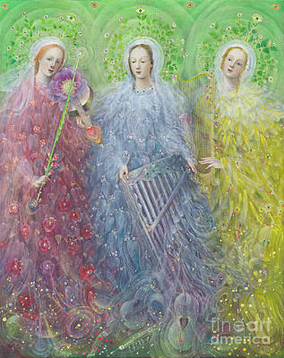 Mass For Three Voices Art Print