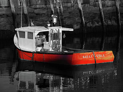 Photograph - Massachusetts Cape Ann Rockport by Juergen Roth