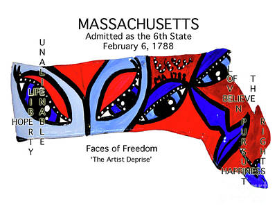 Painting - Massachusetts by Deprise Brescia