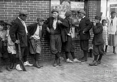Photograph - Massachusetts: Gang, C1916 by Granger