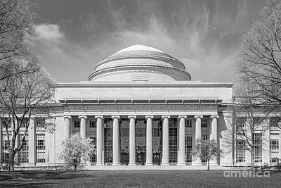 Photograph - Massachusetts Institute Of Technology Maclaurin Building by University Icons