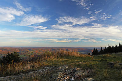 Nature Photograph - Massachusetts Scenic View From Mount Greylock by Juergen Roth
