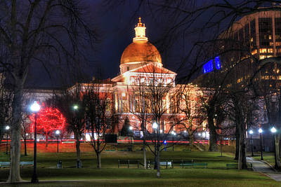 Photograph - Massachusetts State House - Boston by Joann Vitali