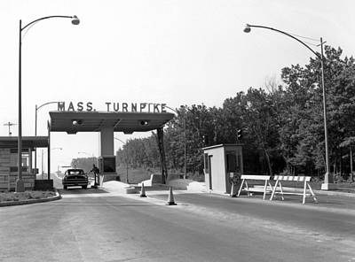 Booth Photograph - Massachusetts Turnpike by Underwood Archives