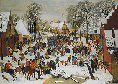 Painting - Massacre Of The Innocents by Pieter Brueghel the Younger