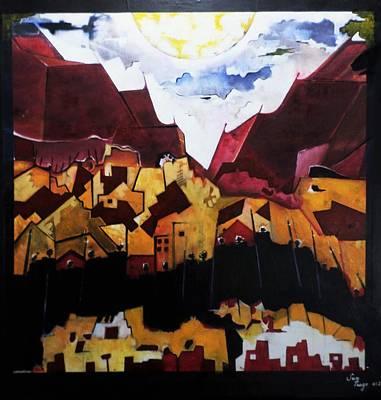 Painting - Massada by Adalardo Nunciato  Santiago
