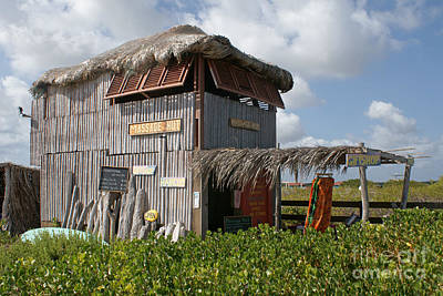 Photograph - Massage Hut And Gift Shop by David Birchall