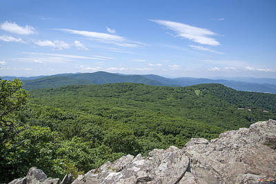Photograph - Massanutten From Little Stoney Man Mountain Ds0062 by Gerry Gantt