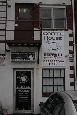Massapequa Perk Home Of Jack Rice Coffee Art Print