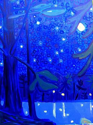Painting - Massapoag Nocturne by Debra Bretton Robinson