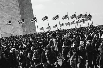 Photograph - Masses Under Washington by Gregory Alan
