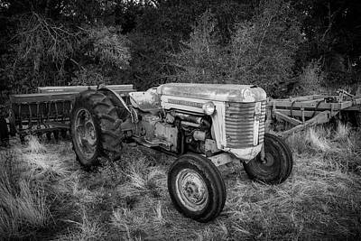Photograph - Massey Ferguson 50 Series Tractor by TL Mair