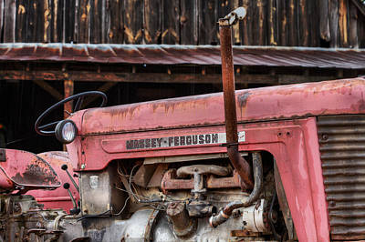 Fauquier County Virginia Photograph - Massey Ferguson by JC Findley