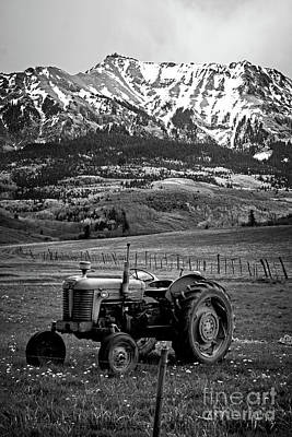 Photograph - Massey Near Dallas Divide by Imagery by Charly