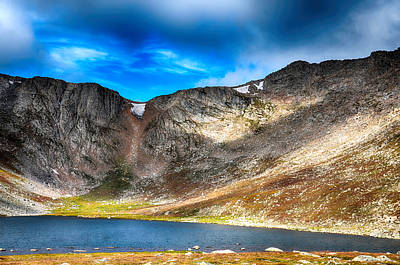 Mixed Media - Massif Chicago Peaks Of Mount Evans 1 by Angelina Vick
