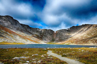 Photograph - Massif Chicago Peaks Of Mount Evans 2 by Angelina Vick