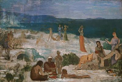 Painting - Massilia Greek Colony by Pierre Puvis de Chavannes
