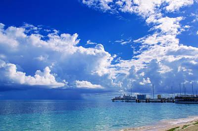 Massive Caribbean Clouds Art Print