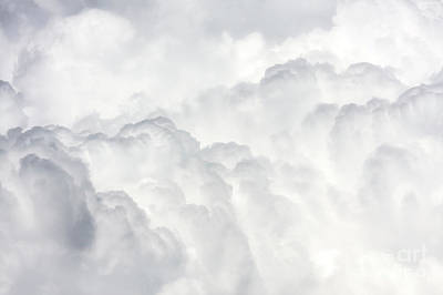 Photograph - Massive Cumulus Clouds by Jan Brons