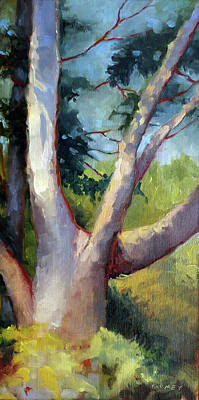 Painting - Massive Summer Oak by Catherine Twomey