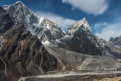 Trek Photograph - Massive Tabuche Peak Nepal by Mike Reid
