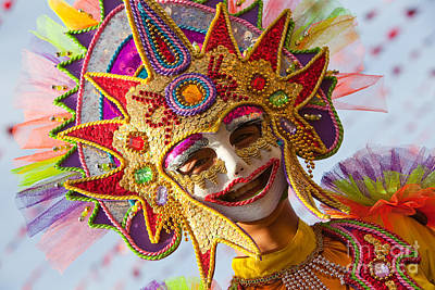 Photograph - Masskara  by Derek Selander