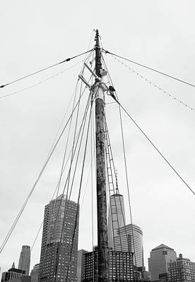 Photograph - Mast And Skyline by Cate Franklyn