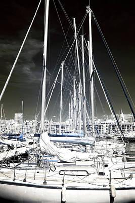 Mast Angles Art Print by John Rizzuto