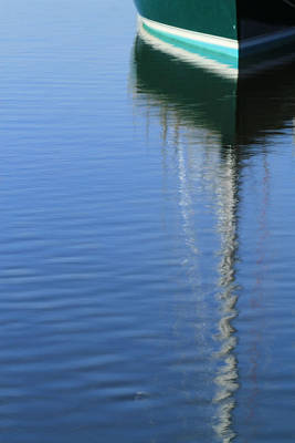 Photograph - Mast Reflections by Karol Livote