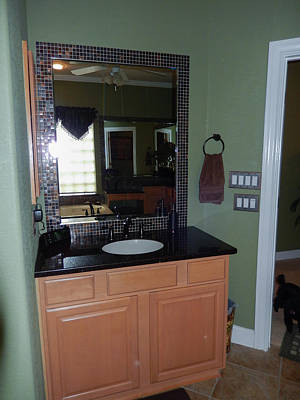 Photograph - Master Bath B by John Johnson
