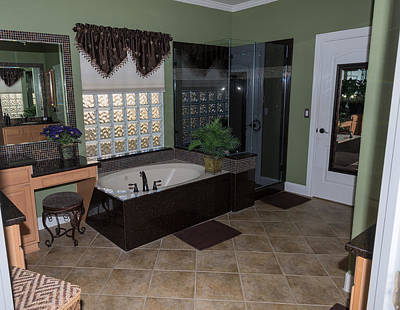 Photograph - Master Bath by John Johnson