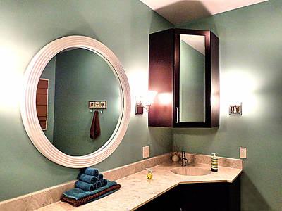 Photograph - Master Bath Vanity by Kathy K McClellan