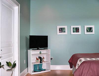 Photograph - Master Bedroom Corner by Kathy K McClellan