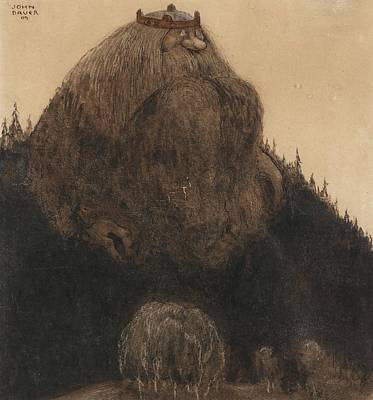 Goblin Painting - Master Birre And The Goblins by John Bauer