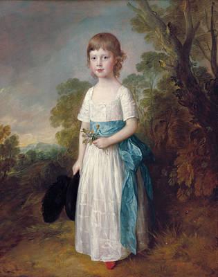 Outdoor Still Life Painting - Master John Heathcote by Thomas Gainsborough