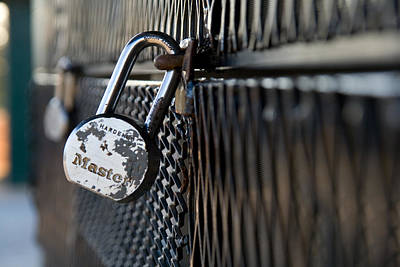 Photograph - Master Lock 2 by Joseph C Hinson Photography