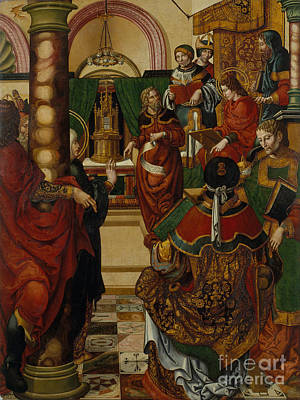 Painting - Master Of Sigena by Celestial Images