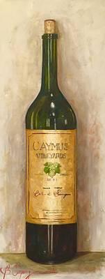 Italian Wine Painting - Master Of The Cabs by Beth Capogrossi