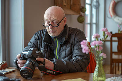Photograph - Master Widar Olsen by Dubi Roman