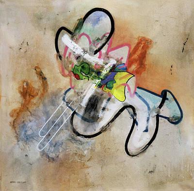 Painting - Masterbation by Antonio Ortiz