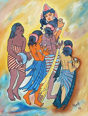 Masterpiece In Art Art Print by Ragunath Venkatraman