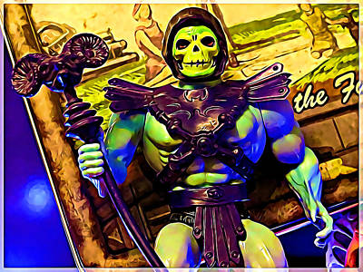 Photograph - Masters Of The Universe Skeletor by Kyle West