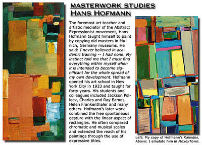 Painting - Masterwork Study Of Hans Hofmann by Banning Lary