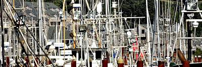 Photograph - Masts 2354 by Jerry Sodorff