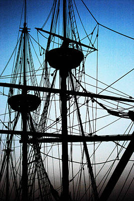 Photograph - Masts by John Cardamone