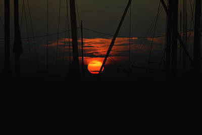 Photograph - Masts by Pete Federico